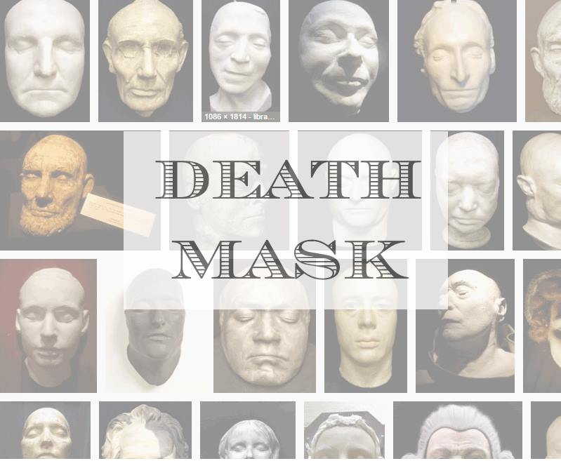 Leanne M Christie square banner for Death Mask series