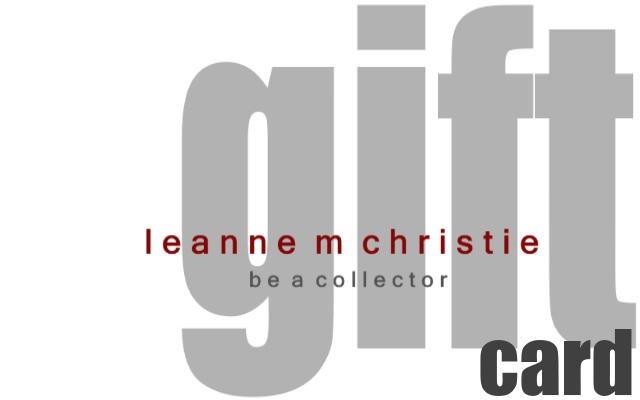 leanne m christie gift card